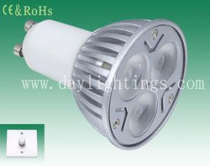 Dimmable 9W GU10 LED Spotlight (DL-GU10-3*3W-1)