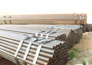 Ms Round Welded Steel Pipe pictures & photos