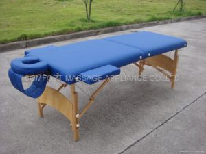 Wooden Massage Table (MT-007) pictures & photos