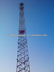 3 Leg Triangular Lattice Telecom Tower