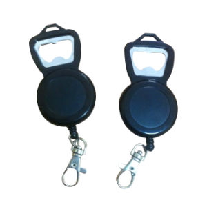New Model Rectractable Badge Holder Bottle Opener pictures & photos