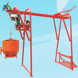 Portable Building Lifting Hoist with Gasoline Engine pictures & photos