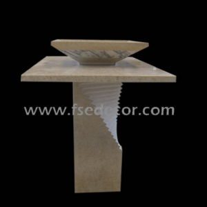 Stone Bathroom Sinks on Natural Stone Marble Sink Vanity  Fse Sts 301m    China Stone Sink
