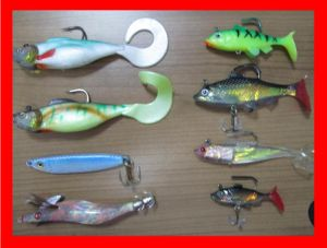 Hard Soft Fishing Lure