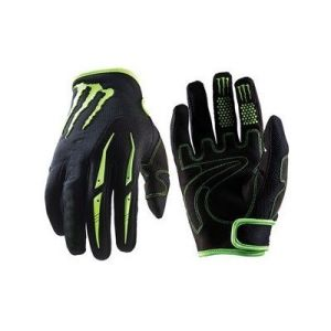 Super Fiber Breathable Full Finger Mountain Cycling Glove for Men pictures & photos