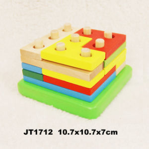 En71 Approved Wooden Toys Blocks (JT1712) pictures & photos
