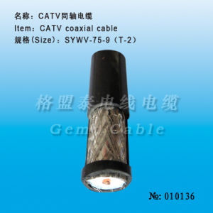 Catv Coaxial Cable, Coaxial Cable, Communication Cable, Tv Cable. (010136) pictures & photos