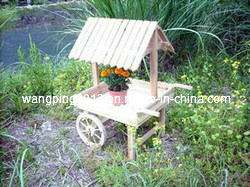 Wooden Wheelbarrow Planters, Garden Wheelbarrow Planters
