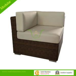 Semi-Round Rattan Modular Outdoor Sofa Garden Furniture (Modular Sofa)