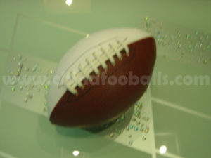 Machine Stitched Leather American Football (XFM-12)