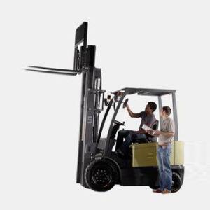 4-Wheel Battery Forklift Truck (FB25-FAZ1) pictures & photos