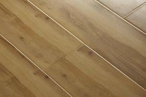 Smooth V-Groove Laminate Flooring of HDF Materials pictures & photos