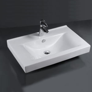 Ceramic Basin, Bathroom Cabinet Sink, Vessel Basin (E Series)