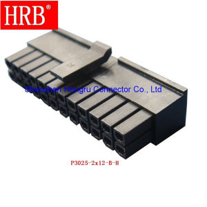 24 Poles 3.0 Pitch Connector of Hrb Brand pictures & photos