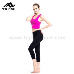 Women Yoga Wear Fitness Pants Ladies Sport Leggings pictures & photos