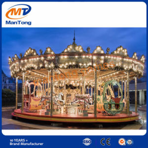 Factory Price Amusement Equipment Horse Ride Carousel Merry-Go-Round for Park pictures & photos