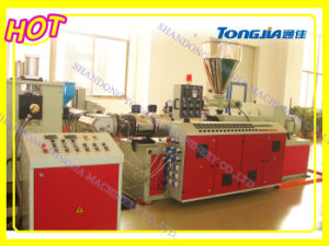 PVC Wood Plastic Composite Board Extruder Extrusion Machine pictures & photos