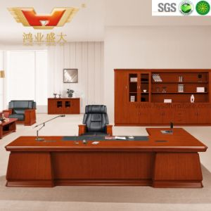 Hot Sale Wooden Executive Office Desk (HY-D7038) pictures & photos
