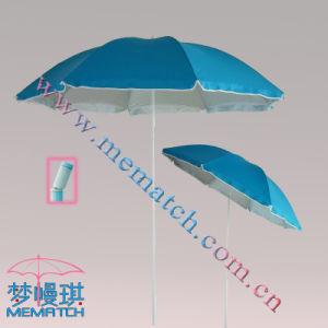 Beach Umbrella With Silver Coating (MEBU-PS103)