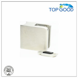 Inox Square Glass Clamp with Safety Plate pictures & photos
