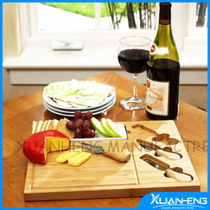 New Design Cheese Tool Set with Cheese Board pictures & photos