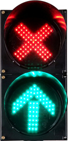 LED Traffic Signal Light (CD300-3-ZGSM-2) pictures & photos