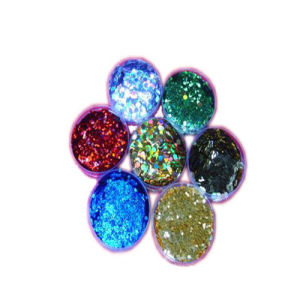 Hexagonal Glitter Powder for Decoration pictures & photos