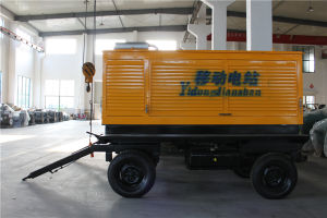 50kVA/40kw Trailer Diesel Generator Powered by Cummins