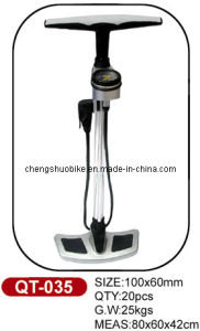 New Design and High-Grade Bike Pump Qt-035 pictures & photos