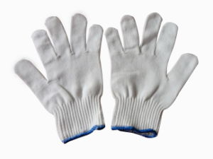 10g Polyester Knitting Glove pictures & photos