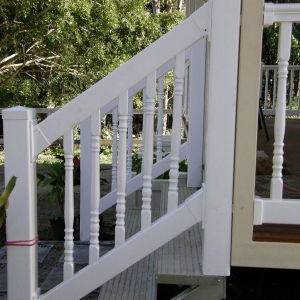 PVC Stair Railing pictures & photos