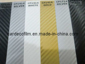 3D Carbon Fiber Vinyl for Car Wrap (CF1414)