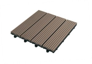 WPC Decking Tiles Composite Wood Tiles for Your Balcony
