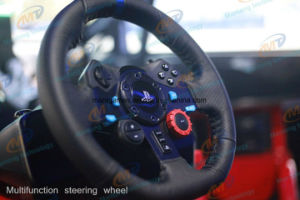 Car Racing Video Game Machines 3 Screen Car Driving Simulator pictures & photos