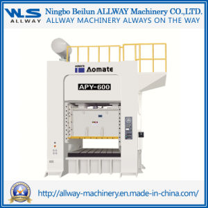 600 Ton High Efficiency Energy Saving Press Machine/Punch Machine (APY-600) pictures & photos