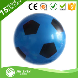 Blue PVC Football Soccer Toy Plaything for Kids Children