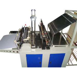 Single Line Cold Cutting Bag Making Machine (SHXJ-800S) Without Punching Unit pictures & photos