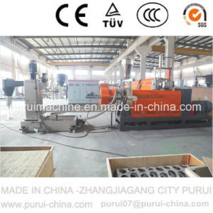 Single Screw Plastic Pelletizing Machine for HDPE Regrind Material Recycling pictures & photos