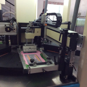 Automatic Flated Rotary Screen Printer for Stationery Ruler pictures & photos