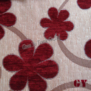 Polyester and Acrylic Jacquard Chenille Home Textile Fabric pictures & photos