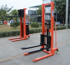 1000kg High Hydraulic Lifting Manual Hand Stacker pictures & photos