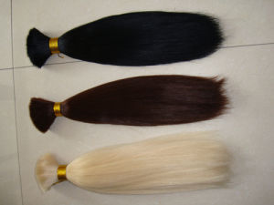 Hot Sell Grade 6A Wholesale Price 100% Indian Romantic Angel Virgin Unprocessed Human Hair Extension pictures & photos