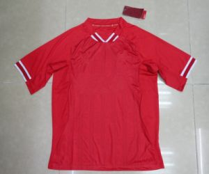 2013/14 New Style Soccer Jersey FC Home Soccer Uniform Red Football Shirts Embroidered Soccer Gear pictures & photos