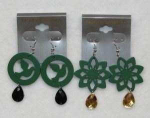 Wooden Earring (A406-407)