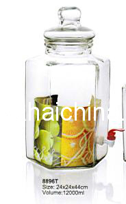 1400ml Glass Jar with Lid pictures & photos