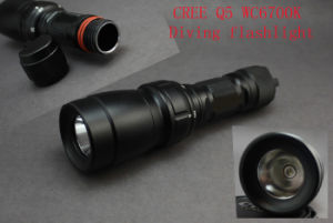 80 Meters Deep Q27b/Q5wc Diving Flashlight pictures & photos