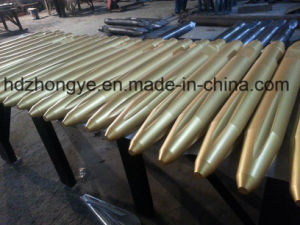 Krupp Serial Conical Point Road Chisel with Slots for Hydraulic Breaker Hammer pictures & photos