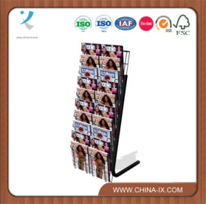 Floor Standing Literature Display Shelf for Retails pictures & photos