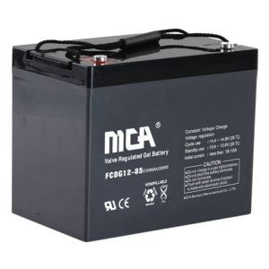 Solar Battery Deep Cycle Rechargeable Battery-12V85ah pictures & photos