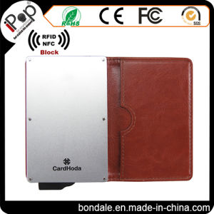 Credit Card Holder, Springk Slim & Stylish RFID Blocking Wallet Aluminum Case Protector for Men and Women